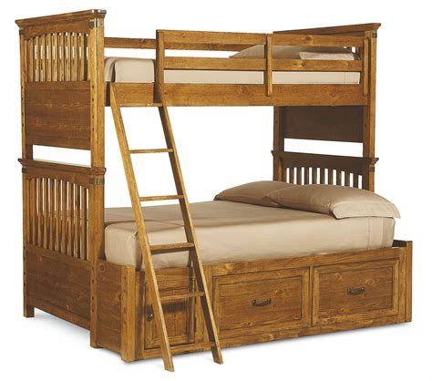bunk bedroom set bryce canyon bunk bedroom set 3900 8110k legacy classic