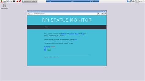 node js simple web page simple website in node js for you raspberry pi 3 random