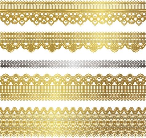 gold pattern free vector gold lace pattern 02 vector free vector in encapsulated
