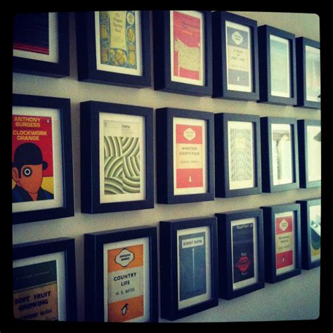 picture framing books penguin classic postcards fabrictherapy