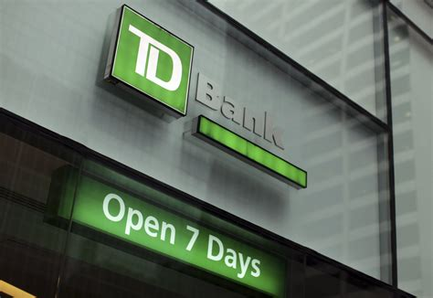 td bank td bank hours of operation bank locations near me and