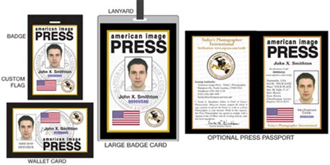 american id card template press credentials press pass media pass press card