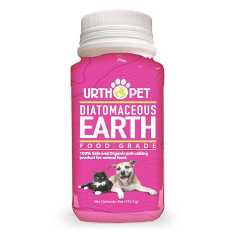 diatomaceous earth for dogs urth pet food grade diatomaceous earth for dogs cats 4 9 oz naturalpetwarehouse