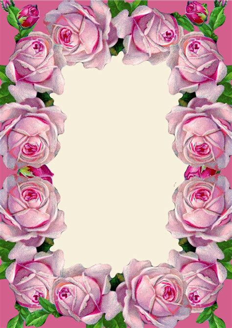 printable images of roses free printable pink vintage rose stationery