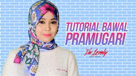 youtube tutorial tudung bawal tutorial tudung hijab bawal style pramugari raya editon