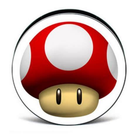 mario toad mushroom acrylic plug