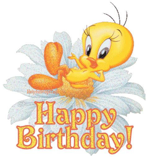 photo 1 happy birthday tweetyrestingflower helpfulhugstags tweety resting flower album
