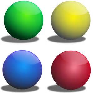 des colores clipart color spheres esferas de colores