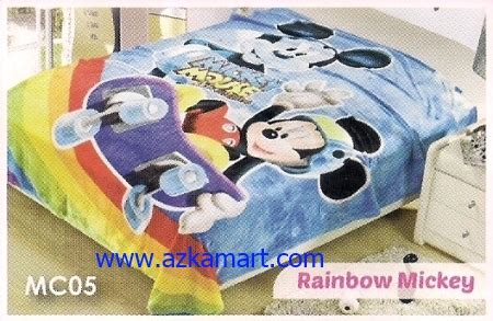 Selimut Soft Lch Minnie Mouse distributor selimut toko selimut sprei bedcover murah