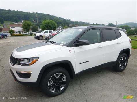 jeep compass trailhawk 2017 black 2017 bright white jeep compass trailhawk 4x4 121759434