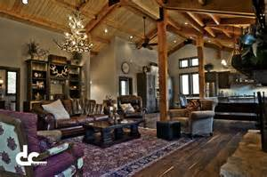 Barn House Interior Tabulous Design Barndominium Living