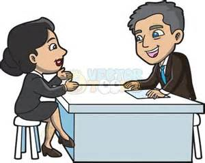 Resume To Interviews Job Interview Clipart Cartoon Images