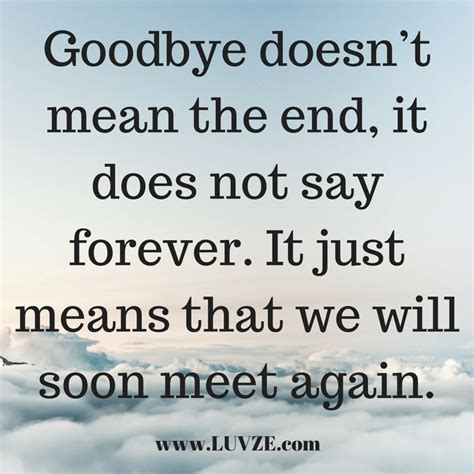 goodbye quotes  farewell sayings messages