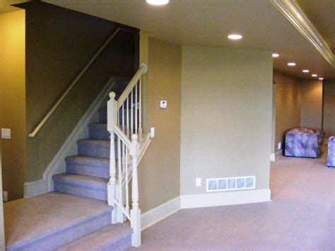 affordable basement stairs railing robinson decor
