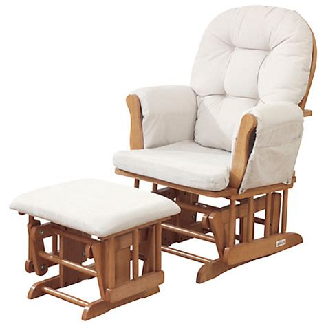 buy kub haywood glider nursing chair and footstool