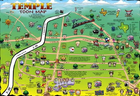 temple texas map temple texas maps