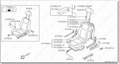 auto manual repair 1995 nissan sentra seat position control service manual how to remove 1992 nissan maxima armrest 1995 2003 nissan maxima lower