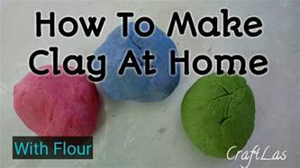 how to make clay at home for make clay with flour