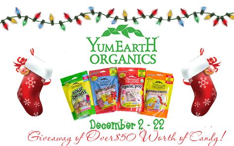 Christmas Candy Giveaways - yumearth christmas event candy giveaway kat balog