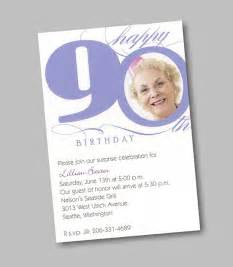 90th birthday invitations wblqual com