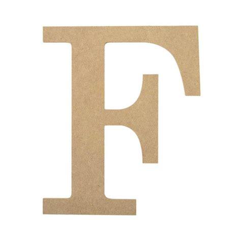 10 quot decorative wood letter f ab2030 mardigrasoutlet com