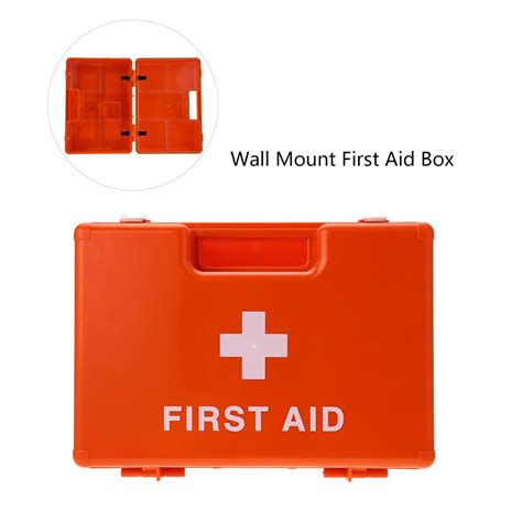 wall mounted first aid box buy online carevas lockable first aid medicine storage box case wall