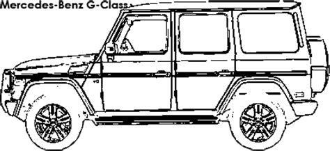 G Wagon Sketches by Mercedes G Wagon Coloring Page Sketch Coloring Page