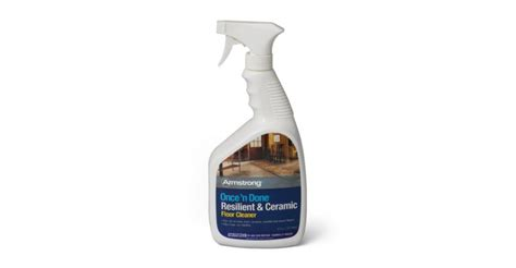 armstrong once n done resilient ceramic floor cleaner