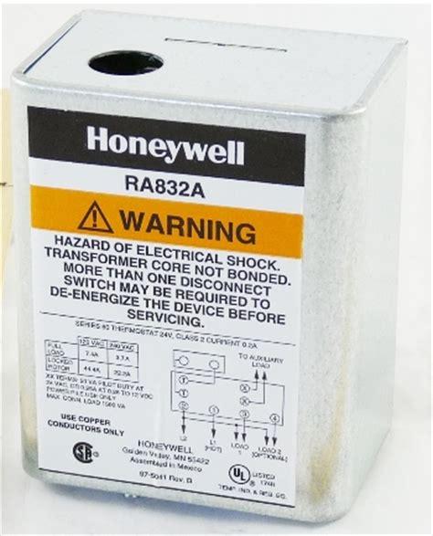honeywell switching relay 120 240v air supply america