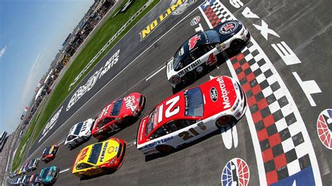 nascar  texas  tv schedule standings qualifying drivers  oreilly auto parts