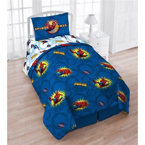 bargain bedding marvel spiderman twin 4 pc bedding set top bargain kids