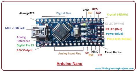 pro mini arduino pinout