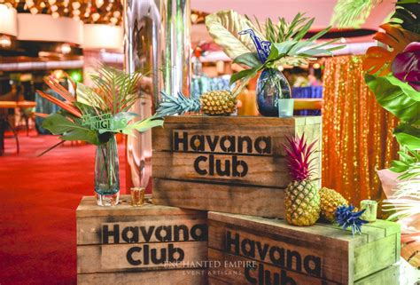 havana themed events havana nights enchanted empire event artisans