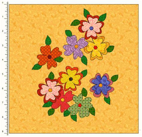 Floral Applique Quilt Patterns by Floral Applique Border Quilt Patterns Lena Patterns