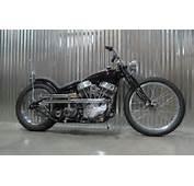 Clean 1948 FL Panhead Chopper For Sale  Rusty Knuckles