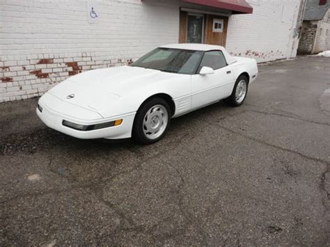 airbag deployment 1993 chevrolet corvette engine control sell used 1993 chevrolet corvette base convertible 2 door 5 7l in new lothrop michigan united