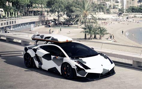 Camouflage Lamborghini Gallardo Skier Jon Olsson S Snow Camo Lambo Sessioned