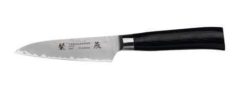 tamahagane kitchen knives tamahagane san tsubame 9cm paring knife kitchenknives co uk