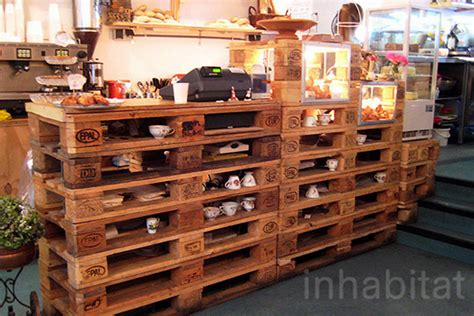 Pallet Furniture Store Mumbai by Organic Bakery In Amsterdam Boasts Recycled Shipping