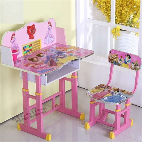 childrens desk and chair set cheap height adjustable table study desk