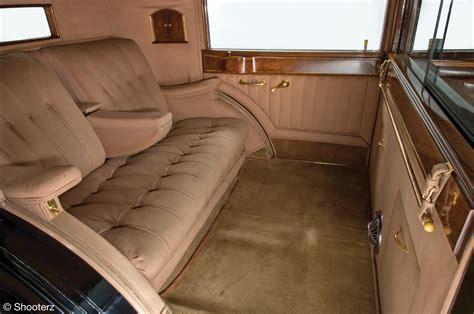 Interior Car Roof Brewster Rolls Royce Phantom Ii Special Town Car 1933 218ams