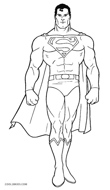 superman coloring pages online free printable superman coloring pages for kids cool2bkids