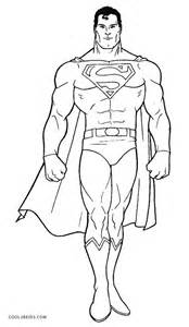coloring page superman images