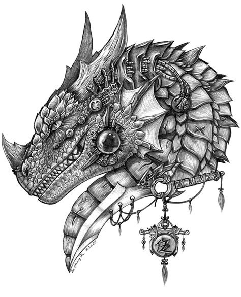 dragon head tattoo designs s sword by jiachengwu