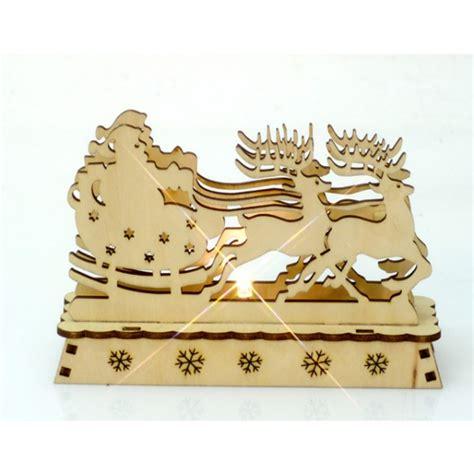 Weihnachtsdeko Fensterbank Mit Beleuchtung by Santa Claus Holz Led Leuchte Le Pyramidenleuchter