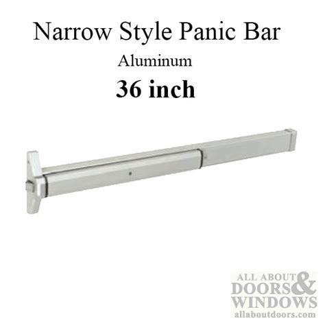 panic bars for glass doors exit device panic bar narrow style type 36 inch