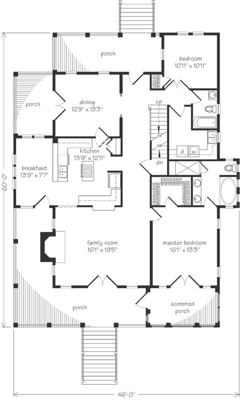 allison ramsey floor plans house plan st helena by architect allison ramsey a southern living plan artfoodhome