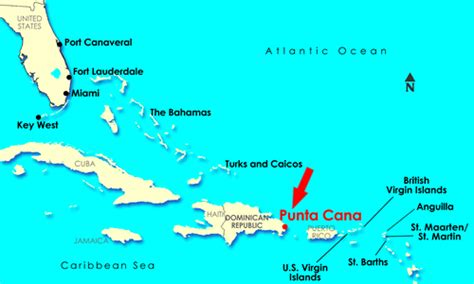 map of punta cana all inclusive registration