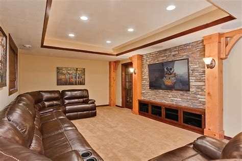 20 incredible home theater designs you won t believe 23 amazing finished basement theaters for movie time