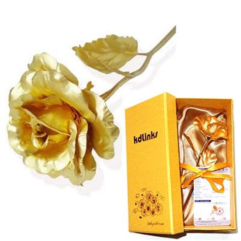 Gift Card Size In Inches - save 54 kdlinks 24k 6 inch gold foil rose best valentine s day gift handcrafted
